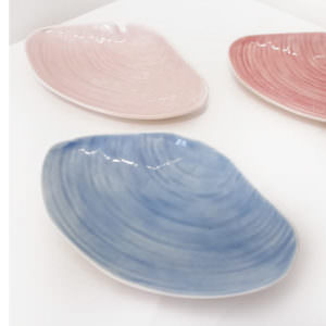 Clam Dish handmade by ceramicist Leanne Ball