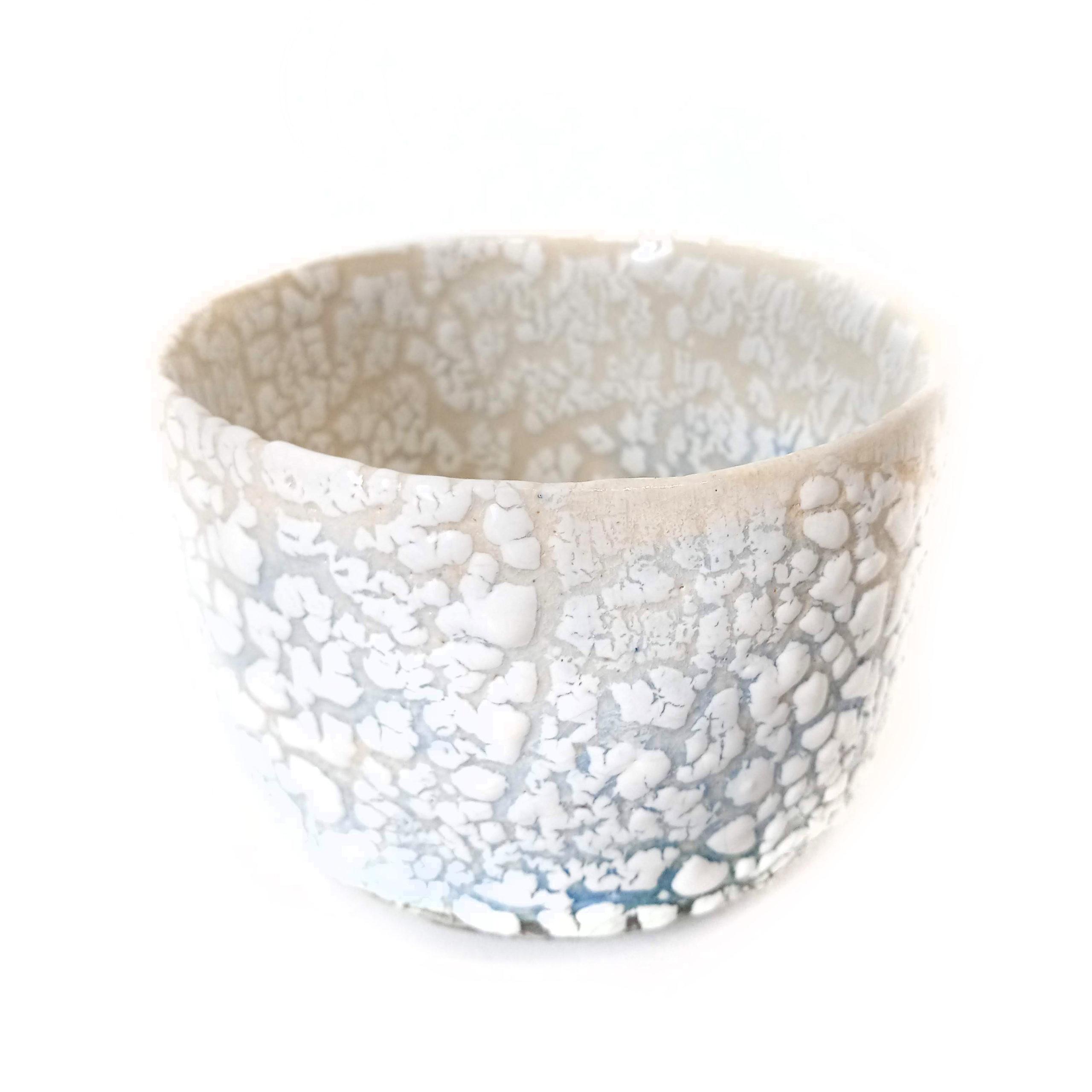 Land to sea bowl, ceramics by Susan Luker