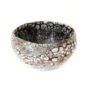 Copper Lichen Bowl, ceramics by Susan Luker