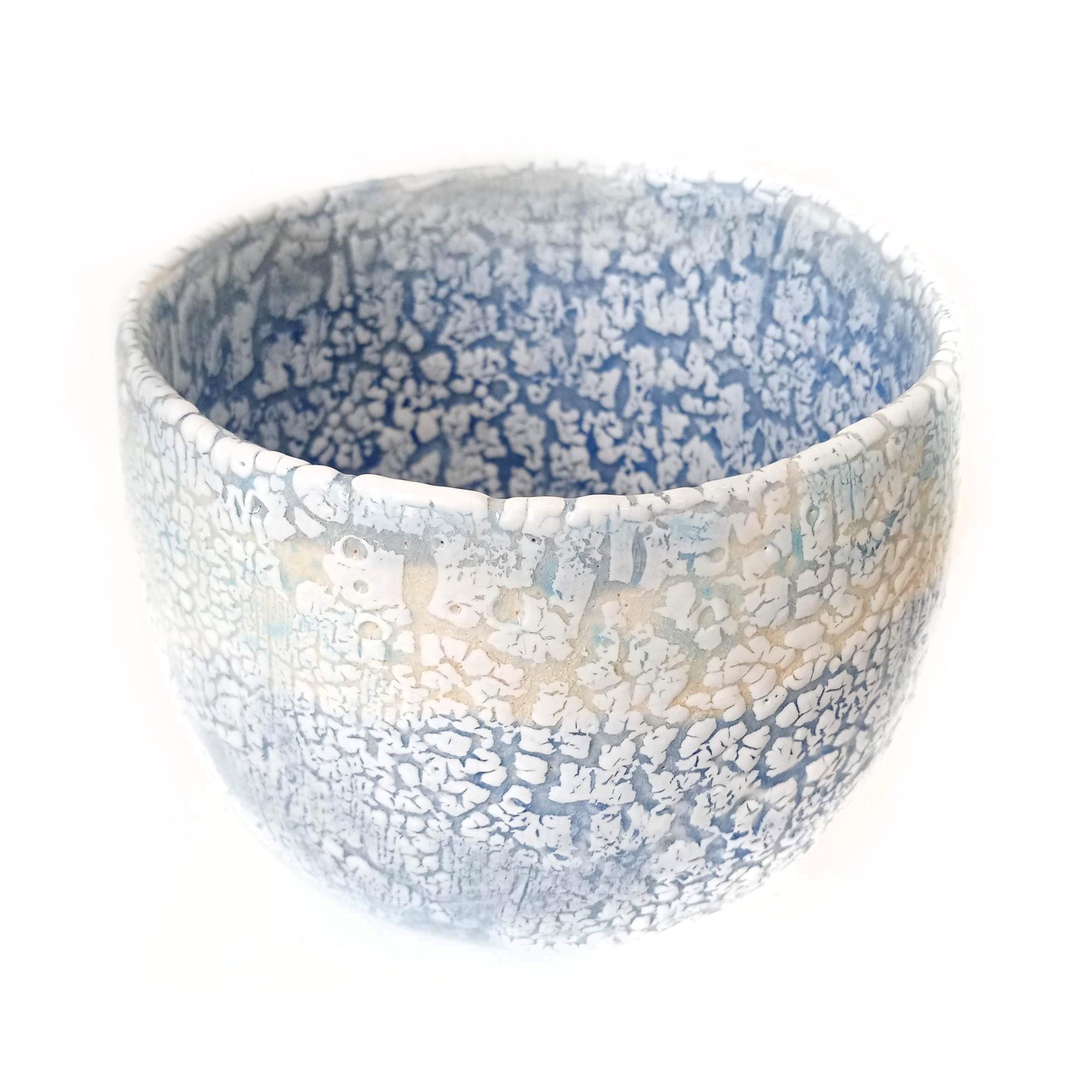 Large land to sea bowl, ceramics by Susan Luker