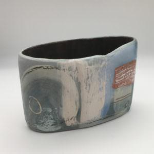 Blue Sky, ceramics by Susan Luker