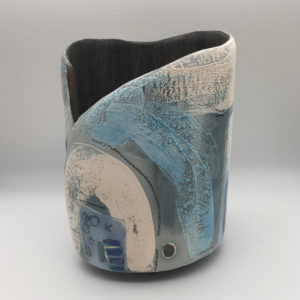 Ferry Steps, ceramics by Susan Luker