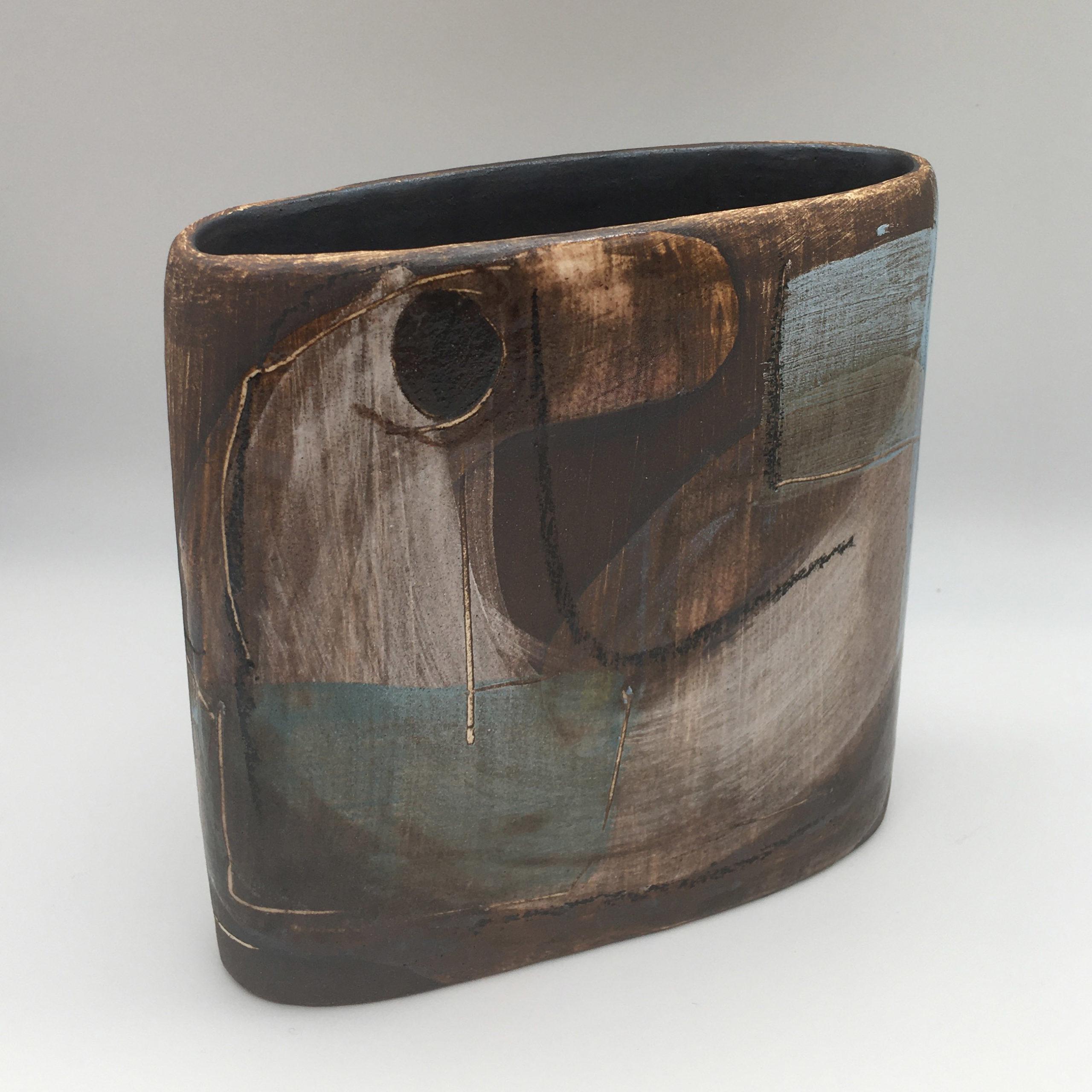 The Bird vase, ceramics by Susan Luker
