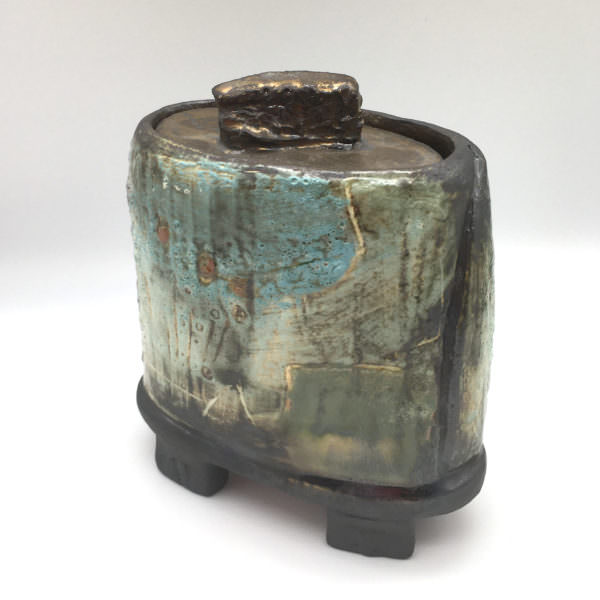 The Keeper II, ceramics by Susan Luker