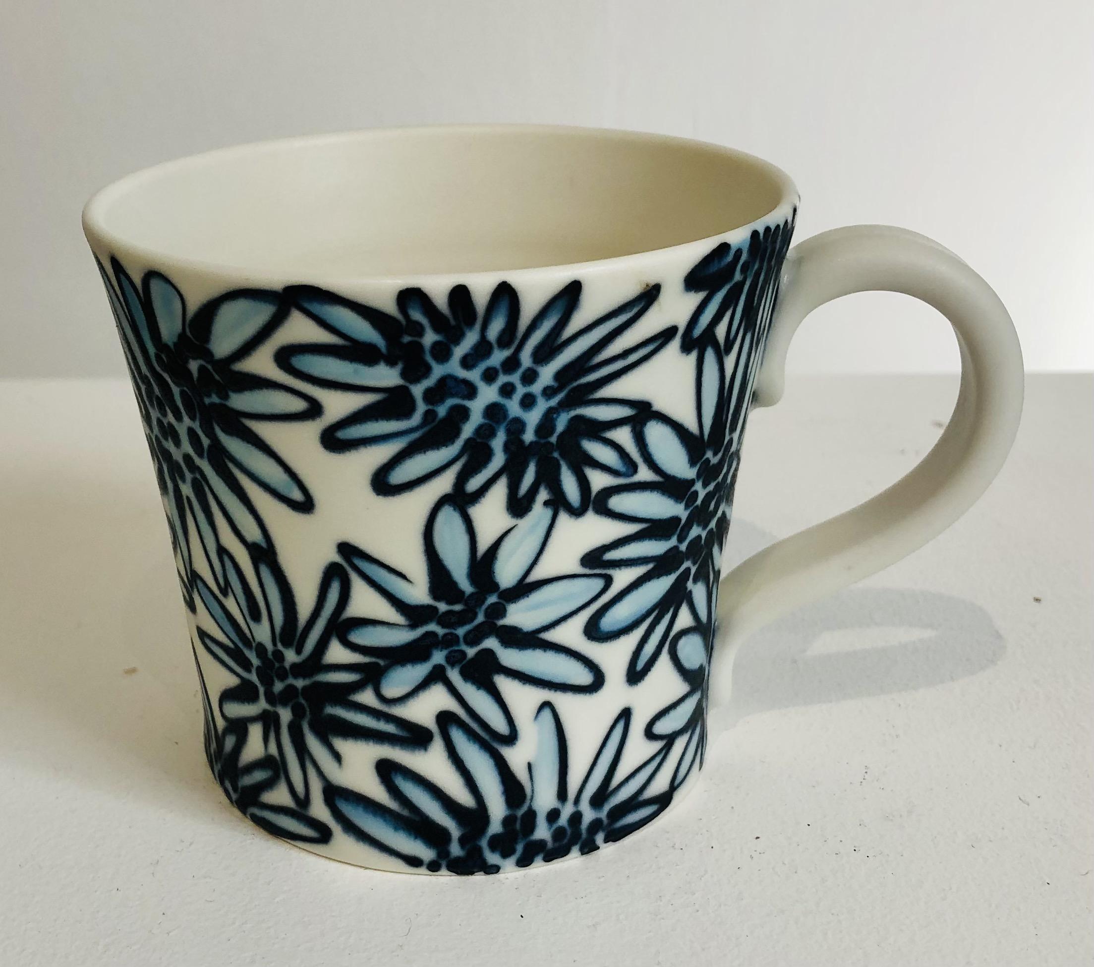 Mug handmade by ceramicist Philippa de Burlet