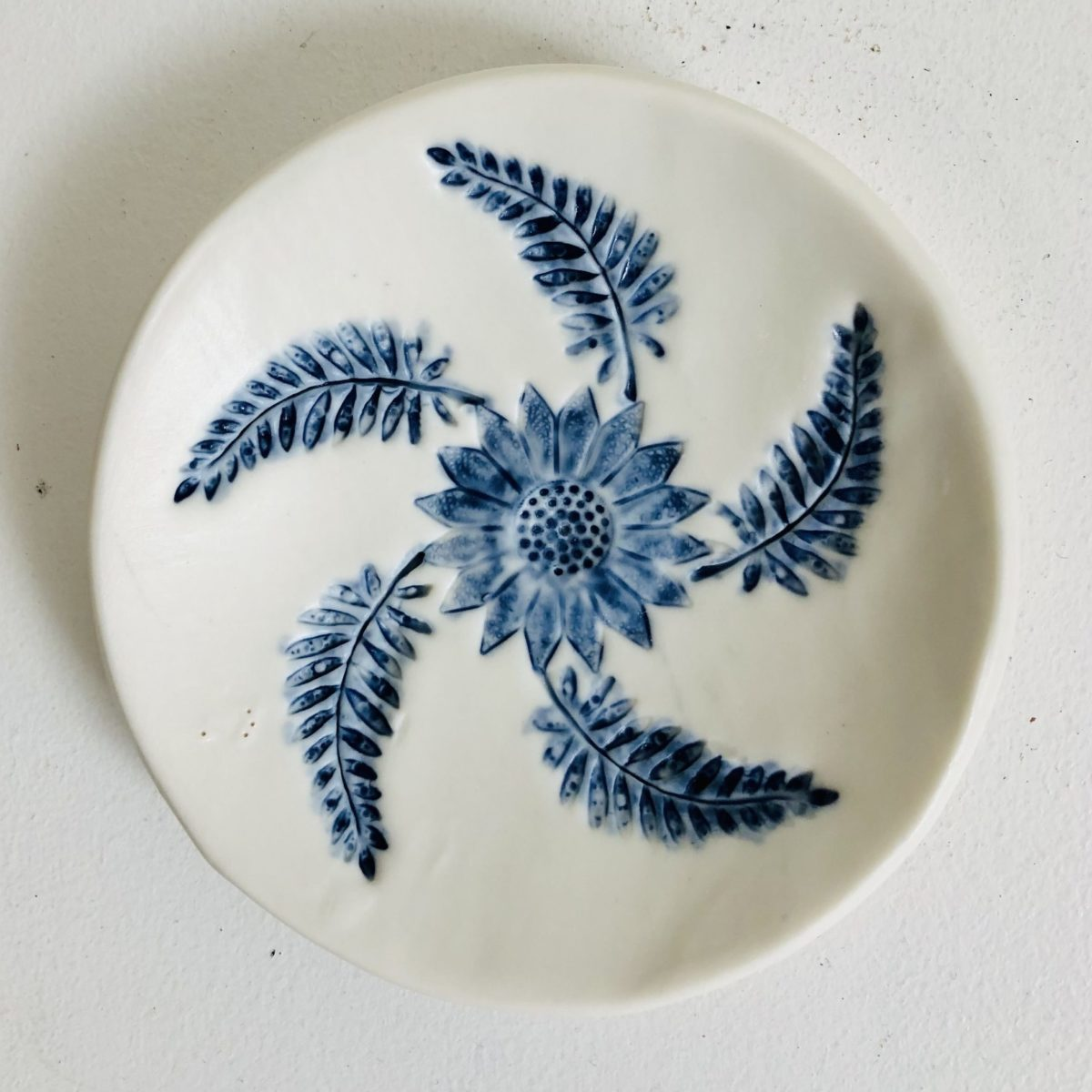 Soap dish made by Philippa de Burlett